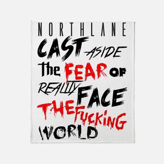 Northlane - Cast aside Throw Blanket