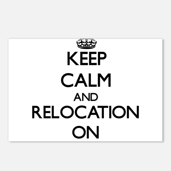 Keep Calm and Relocation Postcards (Package of 8)