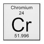 24. Chromium Tile Coaster