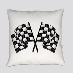 Chequered Flag Everyday Pillow