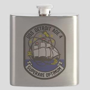 USS Detroit AOE-4 Flask