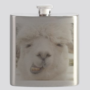 Funny Alpaca Smile Flask