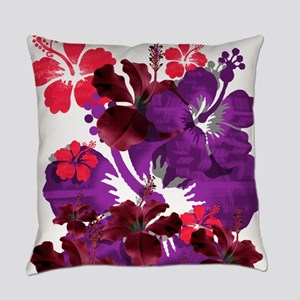 Hibiscus Everyday Pillow