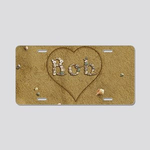 Bob Beach Love Aluminum License Plate