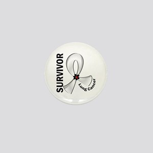 Lung Cancer Survivor 12 Mini Button