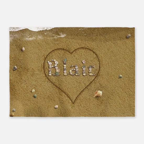 Blair Beach Love 5'x7'Area Rug