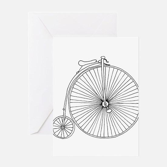 Cute Biker images Greeting Card