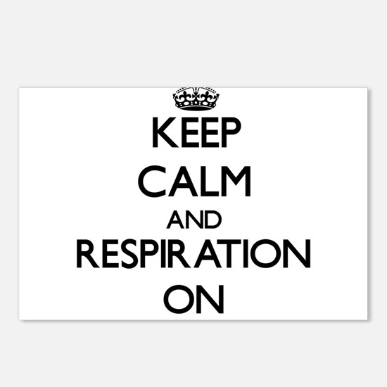 Keep Calm and Respiration Postcards (Package of 8)
