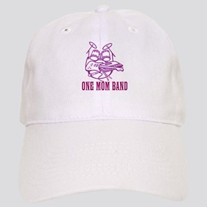 One Mom Band Baseball Cap