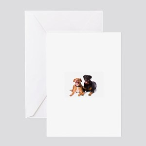 Pit Bull Greeting Cards