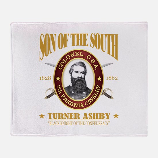 Turner Ashby (SOTS2) Throw Blanket