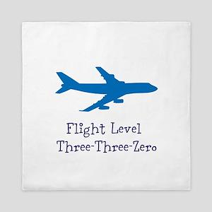 Flight Level Queen Duvet