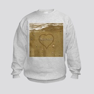 Barnett Beach Love Kids Sweatshirt