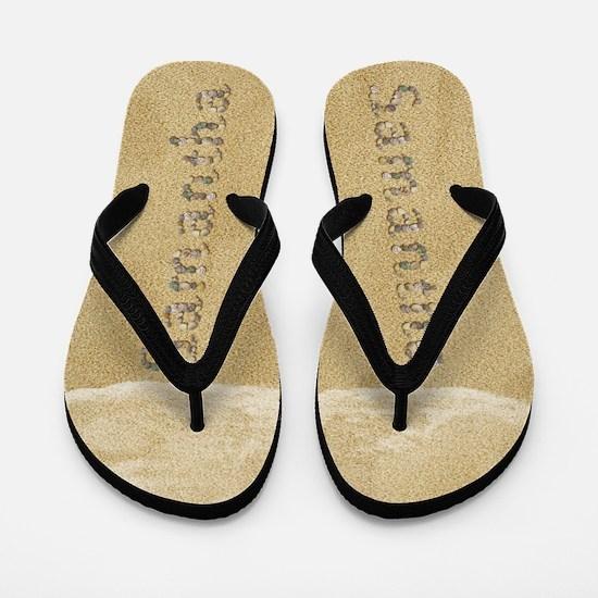 Samantha Seashells Flip Flops
