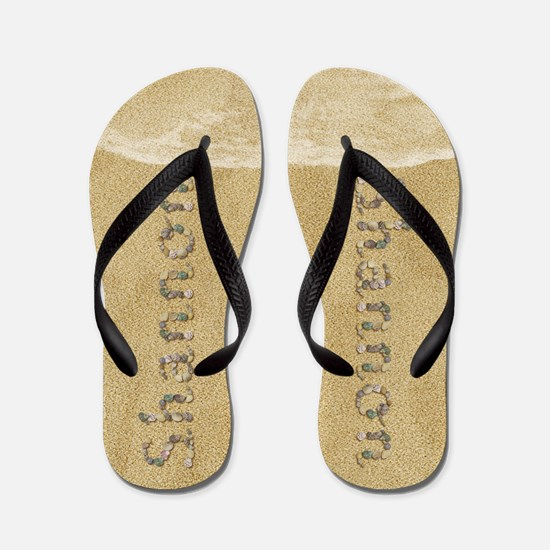 Shannon Seashells Flip Flops