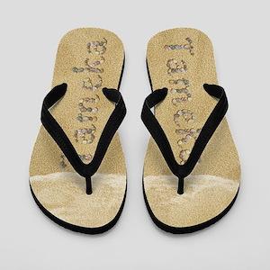 Tameka Seashells Flip Flops