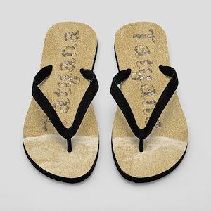 Tatyana Seashells Flip Flops