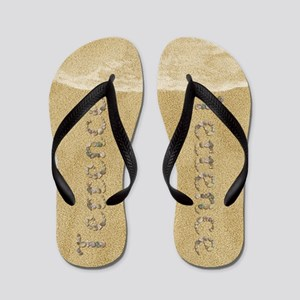 Terrence Seashells Flip Flops