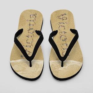 Victoria Seashells Flip Flops