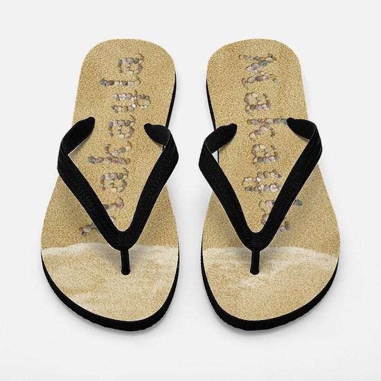 Makayla Seashells Flip Flops