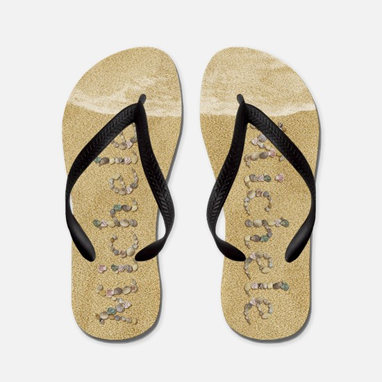 Michele Seashells Flip Flops