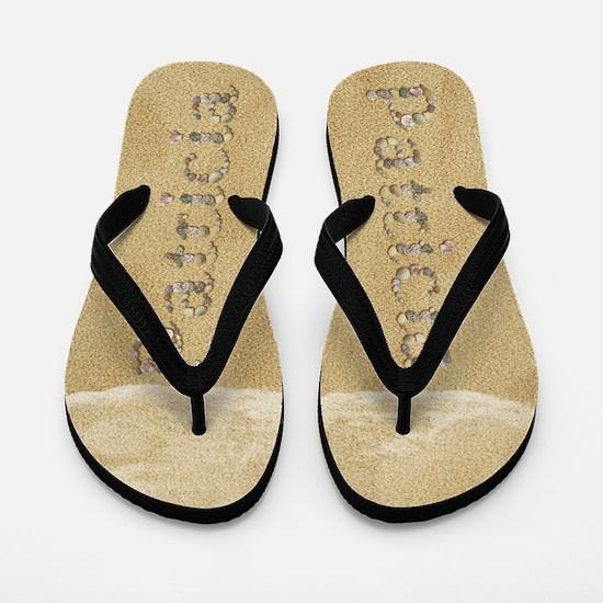Patricia Seashells Flip Flops