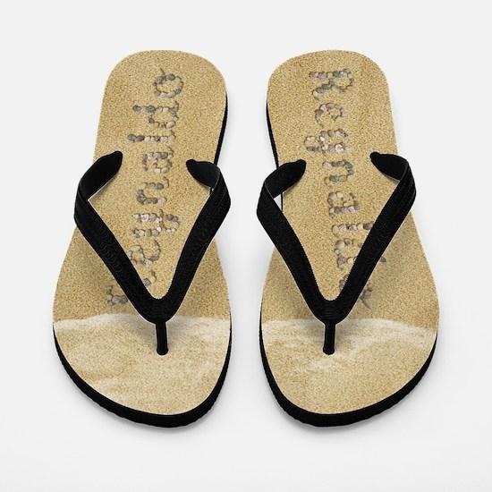 Reynaldo Seashells Flip Flops