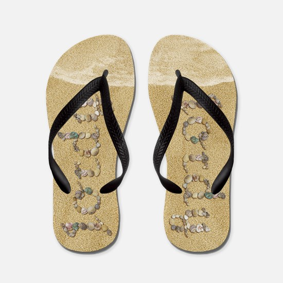 Jordy Seashells Flip Flops