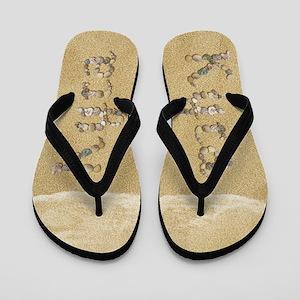 Kyra Seashells Flip Flops