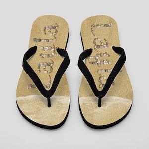 Layla Seashells Flip Flops