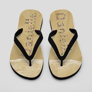 Danielle Seashells Flip Flops