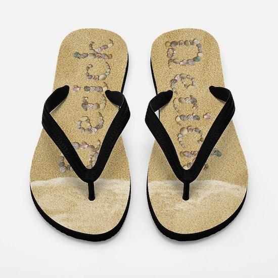 Derick Seashells Flip Flops