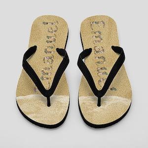 Emanuel Seashells Flip Flops