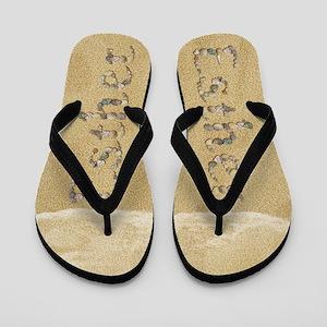 Esther Seashells Flip Flops