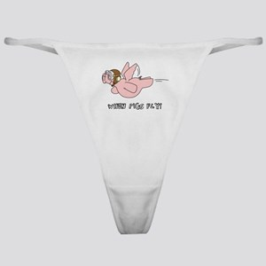 When Pigs Fly! Classic Thong