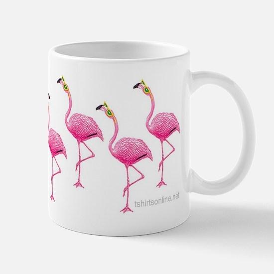 Cool Flamingo Line Mug