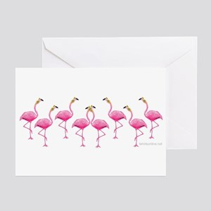 Cool Flamingo Line Greeting Cards (Pk of 10)