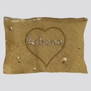 Athena Beach Love Pillow Case
