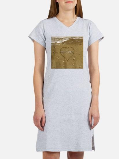 Ashlyn Beach Love Women's Nightshirt