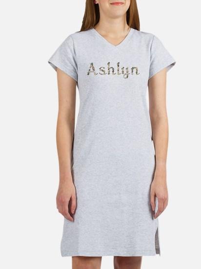 Ashlyn Seashells Women's Nightshirt