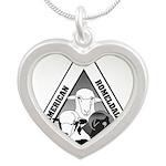 ARCA Silver Heart Necklace