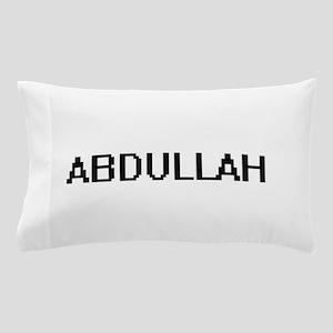 Abdullah Digital Name Design Pillow Case