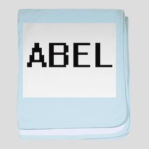 Abel Digital Name Design baby blanket