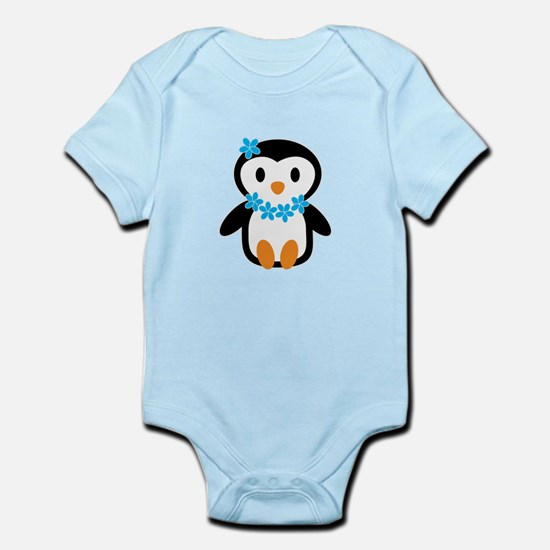 Luau penguin Body Suit
