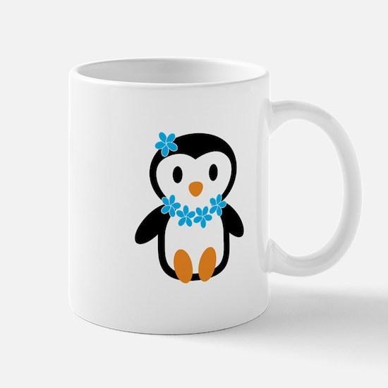 Luau penguin Mugs