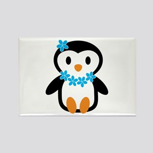 Luau penguin Magnets