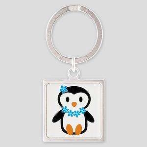 Luau penguin Keychains