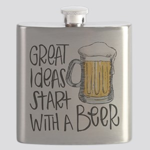 Great Ideas Start With A Beer Flask