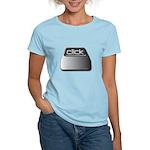 Click Computer Geek Women's Light T-Shirt