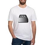 Click Computer Geek Fitted T-Shirt